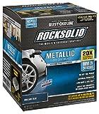 Rust-Oleum 299745 Rock-Solid Metallic Garage Floor Coating Kit, Brilliant Blue