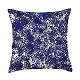 Kristalin Davis Blue Inspired 48 Throw Pillow, 18x18, Multicolor