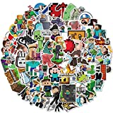 Minecraft Stickers Decals100 Pack Video Game Theme Funny Stickers for Minecraft Lovers Best Gift