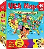 MasterPieces Explorer Kids - USA Map - 60 Piece Kids Puzzle
