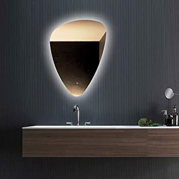 600 x 800 mm Modern Illuminated LED Bathroom Mirror Light ...