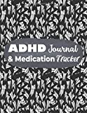 ADHD Journal & Medication Tracker: Medical Appointment Planner, ADHD Journal, Behavior Planner, Medication Planner, Abstract Black Cover