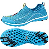 Aleader Women's Mesh Slip On Water Shoes Blue 6 B(M) US
