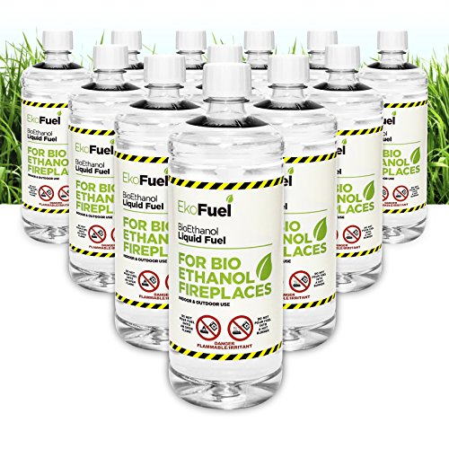 12L PREMIUM BIOETHANOL FUEL FOR FIRES, FREE DELIVERY to mainland UK for orders placed before 3pm. 5,600 EBAY reviews. Bio ethanol Liquid fuel for bioethanol fires. 2.91/Litre
