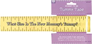 Amscan Games, Tummy Measure Baby Shower Game, Party Supplies, Multicolor, 2in x 150ft 1ct..