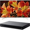 """Sony Bravia XBR85X850F 85"""" 4K HDR10 HLG Triluminos Android LCD TV with Google Assistant 3840x2160 + Sony UBPX800 4K HDR UHD Blu-Ray Player with Dolby Atmos 3D"""