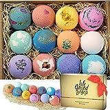 LifeAround2Angels Bath Bombs Gift Set 12 USA made Fizzies, Shea & Coco...