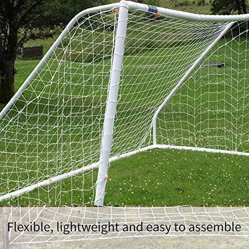 Nikou Tornetz - 3x2m Fußball Tornetz Fußball-Trainingsnetz, Polypropylenfaser Sport Spiel Training Tools