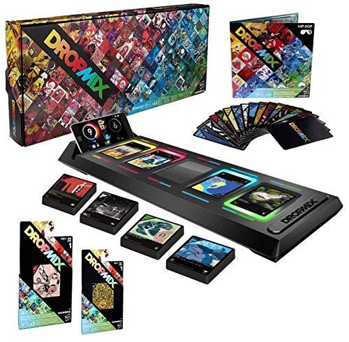 Hasbro Pacchetto DropMix DJ Music Mixing System - Include Pacchetto di Playlist Gratuito + 2 Pacchetti di Scoperta - Sistema di Altoparlanti - Giochi di societ