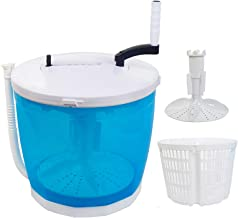 Portable Stacked Washer and Dryer Combo Mini Manual Washing Machine All in One..