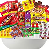 Mexican Candy Box Premium Selection Mix Assortment Snack Dulces Mexicanos Best Sellers Spicy Bulk Includes Lucas Pelon Pulparindo Rellerindo Paletas Vero Miguelito Valentina PicaFresa