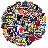 Counter-Strike:Global Offensive CSGO Sticker 50Pcs Waterproof, Removable,Cute,Beautiful,Stylish Teen Stickers, Suitable for Boys and Girls in Water Bottles, laptops, Phones, Suitcase Durable Vinyl
