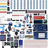 UNIROI MEGA 2560 Project Most Complete Ultimate Starter Kit Compatible with Arduino IDE Tutorial, MEGA 2560 328P Controller Board, LCD 1602, Servo, Stepper Motor (242 Items)