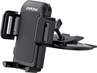 Mpow 051 Car Phone Mount, CD Slot Car Phone Holder, Car Mount with Three-Side Grips and..