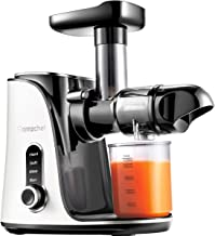 Juicer Machines,AMZCHEF Slow Masticating Juicer Extractor, Cold Press Juicer with Two..