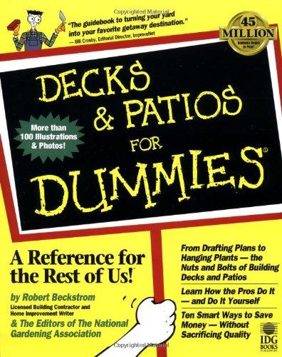 Decks and Patios For Dummies