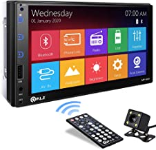 P.L.Z MP-800 Car Entertainment Multimedia System – 7 Inch Double Din HD Touchscreen..