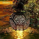 Lanterne Solaire LED Exterieur GolWof Lampe Solaire de Jardin Exterieur...