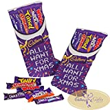 Two Christmas selection box Stockings crammed with chocolate bars for a truly Merry Christmas. Two traditional large Cadbury Selection Stockings make the perfect Christmas gift. Christmas Stockings filled with all your favourite Cadbury chocolate bar...