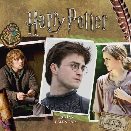 Harry Potter Official 2018 Calendar - Square Wall Format (Calendar 2018)