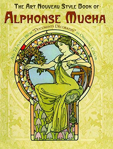 The Art Nouveau Style Book of Alphonse Mucha (Dover Fine...
