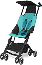 gb Pockit Ultra Compact Lightweight Travel Stroller in Capri Blue, The World's..