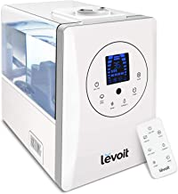 LEVOIT Ultrasonic Air Humidifier for Home Whole House Babies, Customized Humidity, Remote..