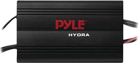 Pyle Hydra Marine Amplifier – Upgraded Elite Series 800 Watt 4 Channel Micro..