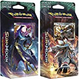Pokemon TCG: Sun & Moon Guardians Rising, Bundle Of Two 60-Card Theme Decks Featuring A Holographic Solgaleo & Lunala