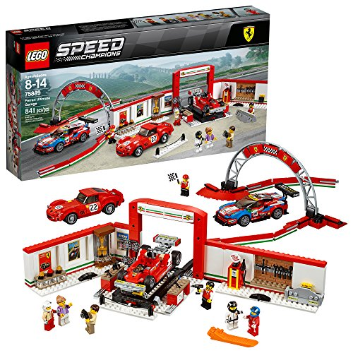 LEGO Speed Champions Ferrari Ultimate Garage 75889 Building Kit (841 Pieces)