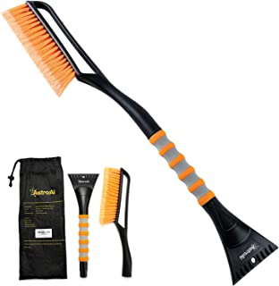 "AstroAI 27""Snow Brush and Detachable Ice Scraper with Ergonomic Foam Grip for Cars,.."
