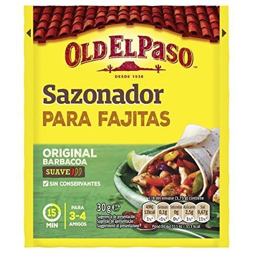 Old El Paso - Sazonador para Fajitas - 30g