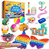 Ecoffer Fidget Pack with Novelty and Funny Anxiety Relief Toys, Colorful Fidget Set for Kids and...