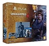 """Plate-forme supportée : PlayStation 4 Contenu de l'emballage : Un jeu """"uncharted 4"""", un PS4 et un contrôleur Alimentation: AC 100-240V, 50/60Hz Contact du support de Sony : 01 70 70 07 78"""