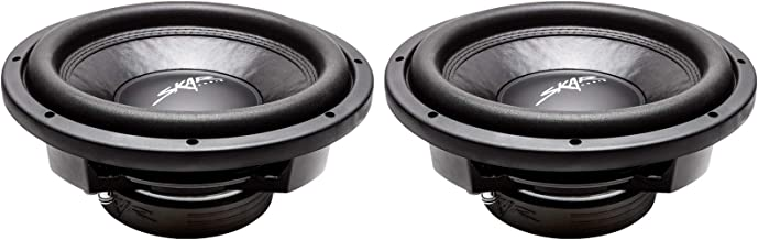 "(2) Skar Audio VD-12 D4 12"" 800W Max Power Dual 4 Ohm Shallow Mount Subwoofers, Pair of 2"