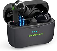 Gtracing Wireless Earbuds with Charging Case Ipx7 Waterproof TWS Stereo Headphones Bluetooth 5.0 Earbuds with Microphone P...