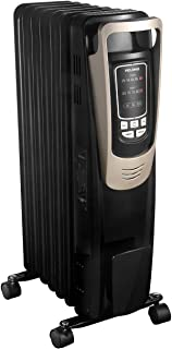 PELONIS Oil Filled Radiator Heater Luxurious Champagne Portable Space Heater with..