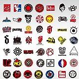 Tide Brand Graffiti Icon - Adhesivo impermeable para maleta, guitarra o monopatín, 50 unidades