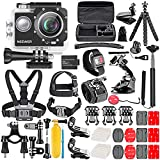 Neewer Kit de Caméra d'action G1 Ultra HD 4K 12 MP, Caméra Etanche...
