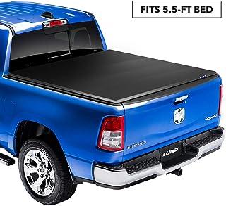 Lund Genesis Elite Tri-Fold, Soft Folding Truck Bed Tonneau Cover | 958172 | Fits 2015..
