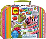 My First Sewing Kit by Alex Crafts, Perfect Sewing Kit for Beginners, Arts and Crafts Colorful and Fun Sewing Projects to Learn the Basic Skills of Sewing (Ages 7+) (Toy)