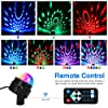 Party Lights Disco Ball Disco Lights, TONGK 7 Colors Dj Lighting Led Strobe Light Sound Activated Stage Lights Effect Dj Equipment With Remote Control with Kids Festival Birthday Xmas Wedding Bar Club #3