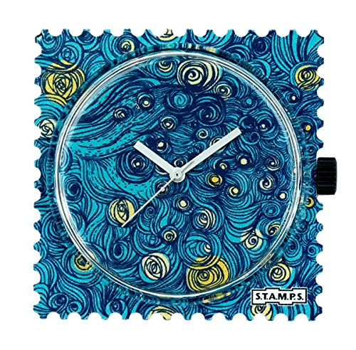 S.T.A.M.P.S. Stamps Uhr Zifferblatt Midnight in Paris 104821