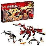 LEGO-NINJAGO Le dragon Firstbourne Jeu pour Enfant 9 Ans et Plus, Briques de...