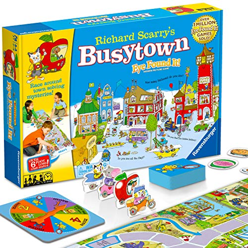 Wonder Forge Richard Scarry's Busytown, Eye Found It Toddler Toy and Game f...