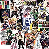 TTBH Anime Pegatina monopatín Impermeable Trolley Caso portátil monopatín Pegatinas Juguetes Regalos para niños 70 unids/Pack