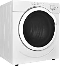 Costway Electric Tumble Dryer Compact Stainless Steel Clothes Dryer (3.21 Cu.Ft.)