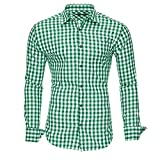 Kayhan chemise pour homme- Vert - Large