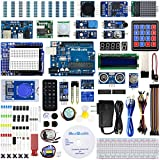 REXQualis UNO R3 Complete Starter Kit w/Detailed Tutorial and UNO R3 Compatible with Arduino IDE