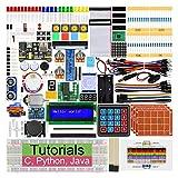 Freenove Ultimate Starter Kit per Raspberry Pi 4 B 3 B+ 400, 434 Pagine Tutorial Dettagliati, Python C Java Code, 223 Articoli, 57 Progetti, Breadboard Senza Saldatura